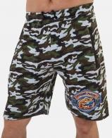 Камуфляжные шорты рыболова