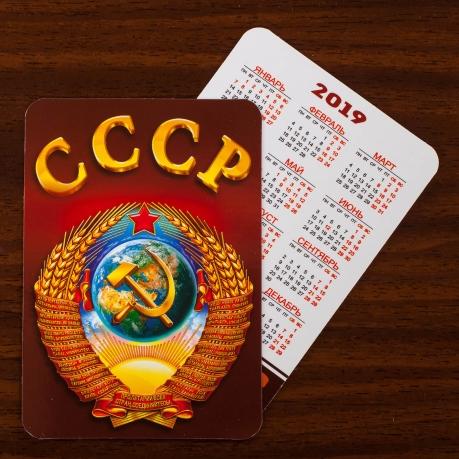 """Карманный календарик """"СССР"""" (на 2019 год)"""