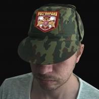 Кепка армейка с официальной эмблемой Росгвардии