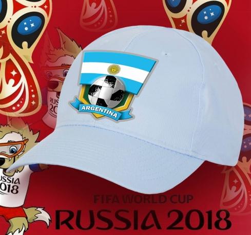 Кепка фаната сборной Аргентины