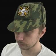 Камуфляжная кепка с вышитым Знаком генерала Бакланова.