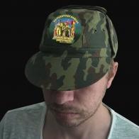 Милитари кепка камуфляж Пограничные войска