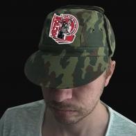 Мужская кепка с принтом-термотрансфером Морпех