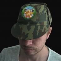 Кепка в камуфляже Woodland Пограничные войска России
