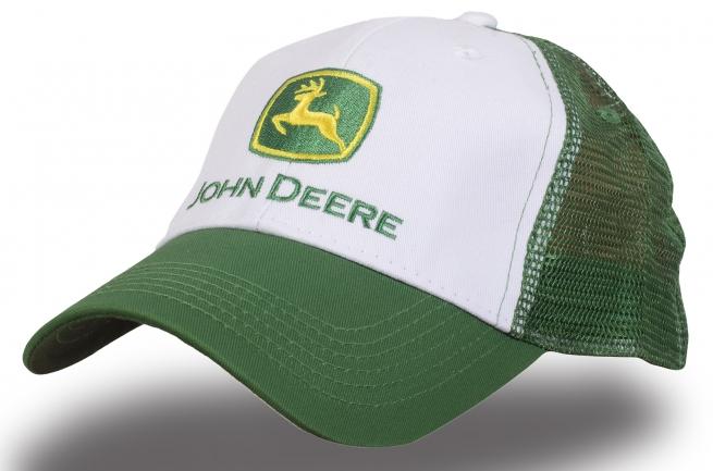 Кепка зеленая с сеткой - купить в интернет-магазине с доставкой