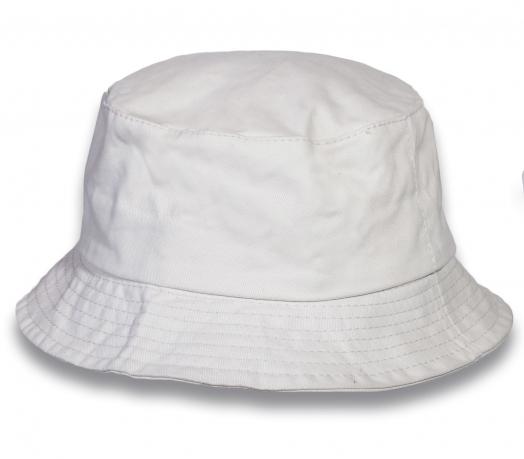 Классическая белая  панама - купить онлайн