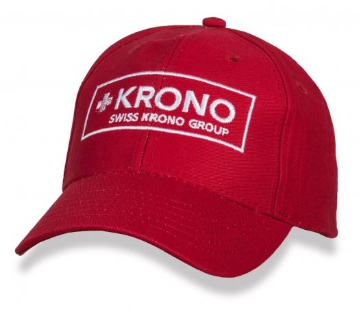Классическая красная бейсболка Krono