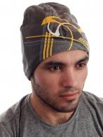 Классная мужская шапка из флиса от Ski-Doo