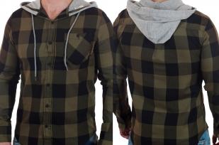 Классная рубашка с капюшоном от Carbon с доставкой