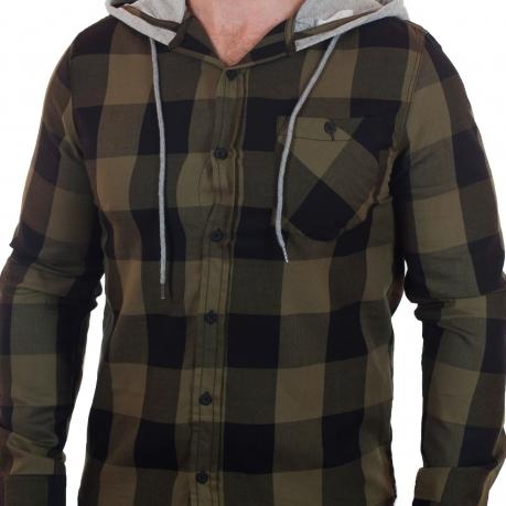 Классная рубашка с капюшоном от Carbon