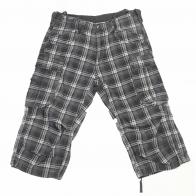 Клетчатые мужские шорты-бриджи Brandit.