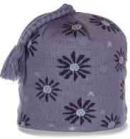Кокетливая женственная зимняя шапка утепленная флисом в гардероб ценителю качества
