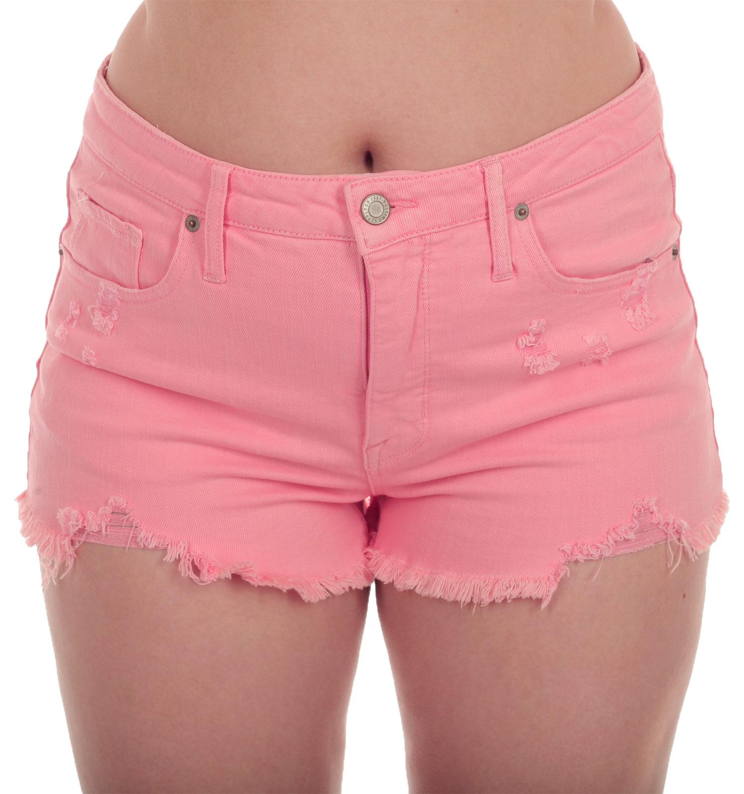 Купить короткие джинсовые женские шорты MOSSIMO
