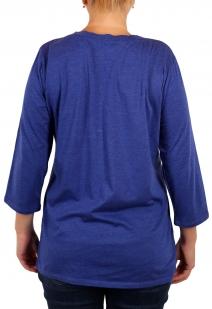 Красивая женская кофта Panhandle Slim. Классическая горловина, рукав ¾, модный этнический узор, умный фасон, скрывающий нюансы фигуры