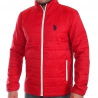Ярко-красная мужская куртка U.S. Polo Assn