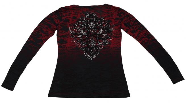 Красно-черная кофточка с капюшоном. Стильная модель отличного качества