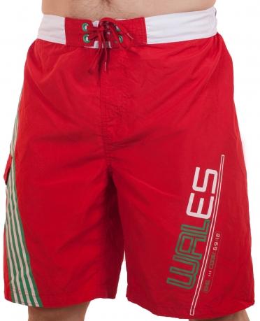 Красные спортивные шорты для мужчин (George, Великобритания)