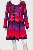 Красочное свободное платье PALME.