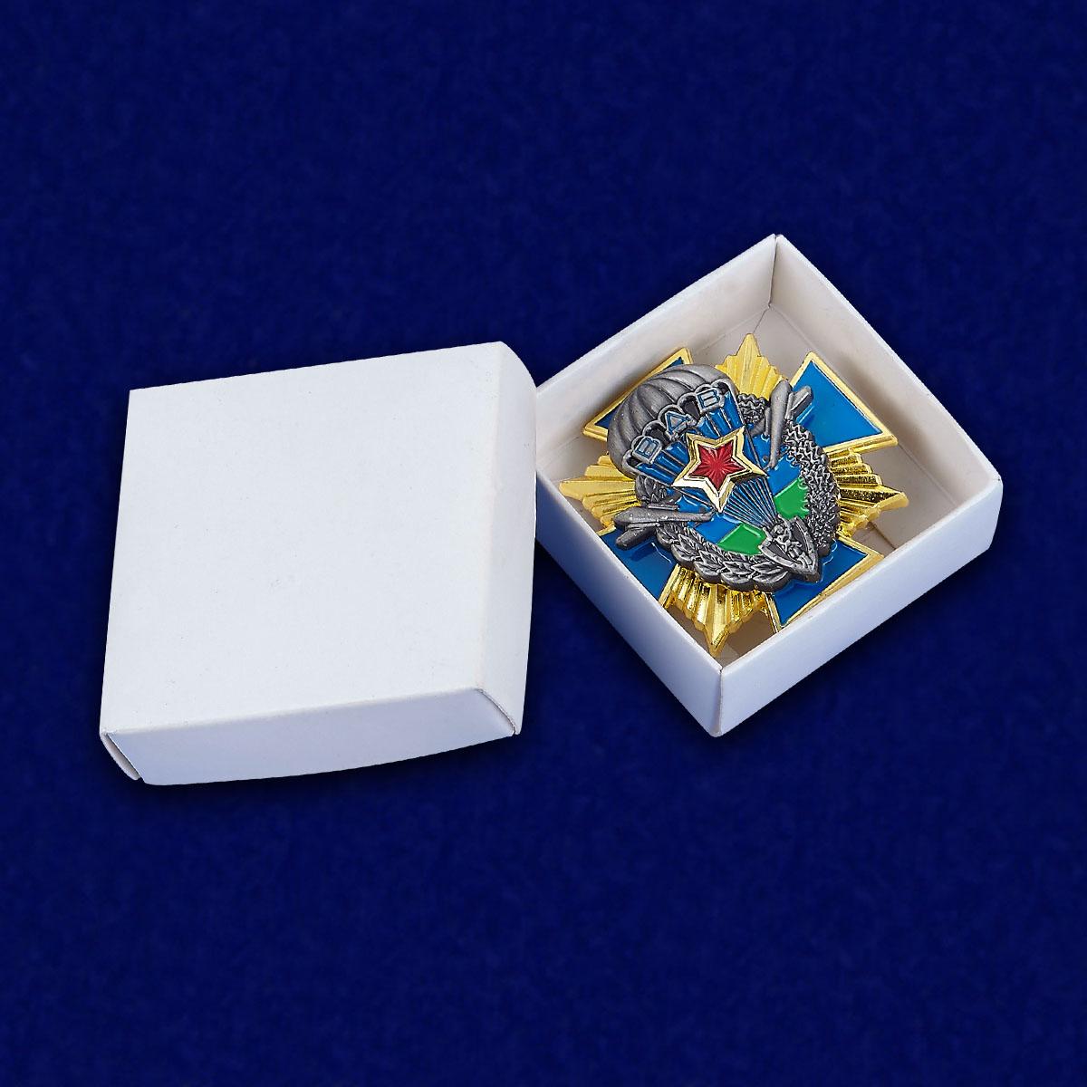 Крест десантника - в футляре