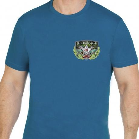 """Крутая футболка """"Звезда рыбака""""."""