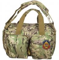 Крутая камуфляжная сумка с нашивкой УГРО