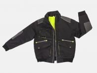 Крутая мужская куртка пилот с карманами.