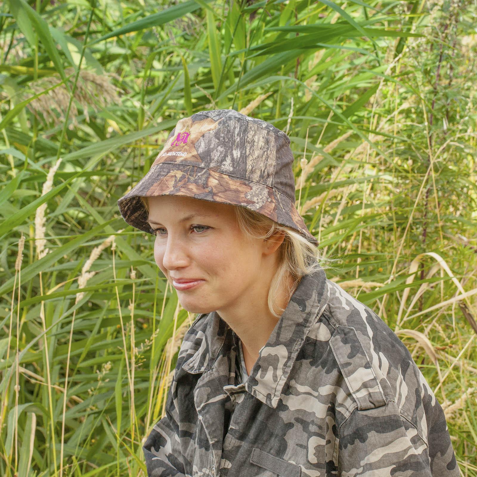 Купить женскую камуфляжную панаму Realtree
