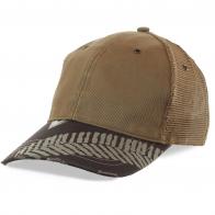 Крутая кепка с дизайнерской вышивкой, металлическими люверсами, стильными потёртостями и следами автомобильного протектора. Модель – ОГОНЬ!