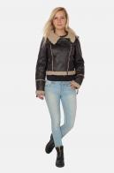 Крутая женская куртка-авиатор из коллекции Golden Island