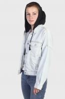 Женская джинсовая куртка Tillys.