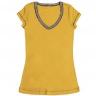 Летняя солнечная футболка для подвижных девочек