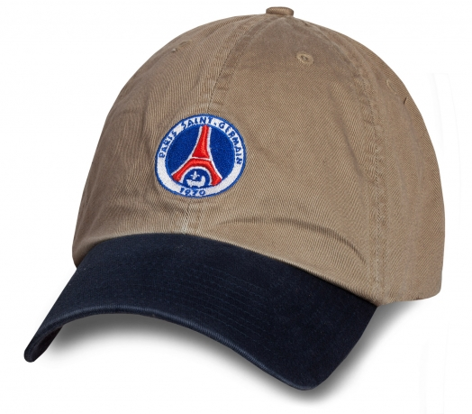 Летняя топовая бейсболка Paris Saint-Germain
