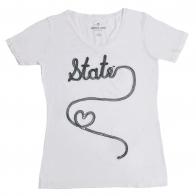 Летняя женская футболка от американского бренда Emerson Street®