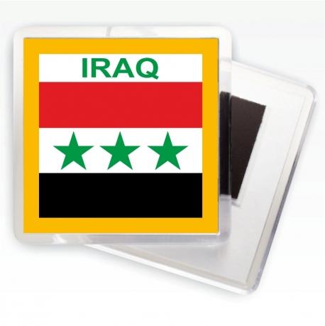 """Магнит с флагом """"Армия Ирака"""""""