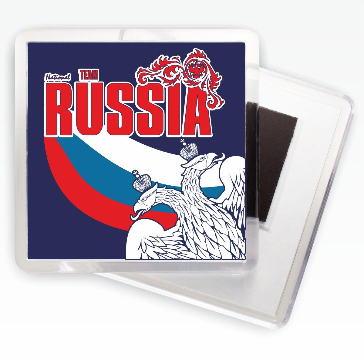 Заказать магнитик RUSSIA «Двуглавый орёл»
