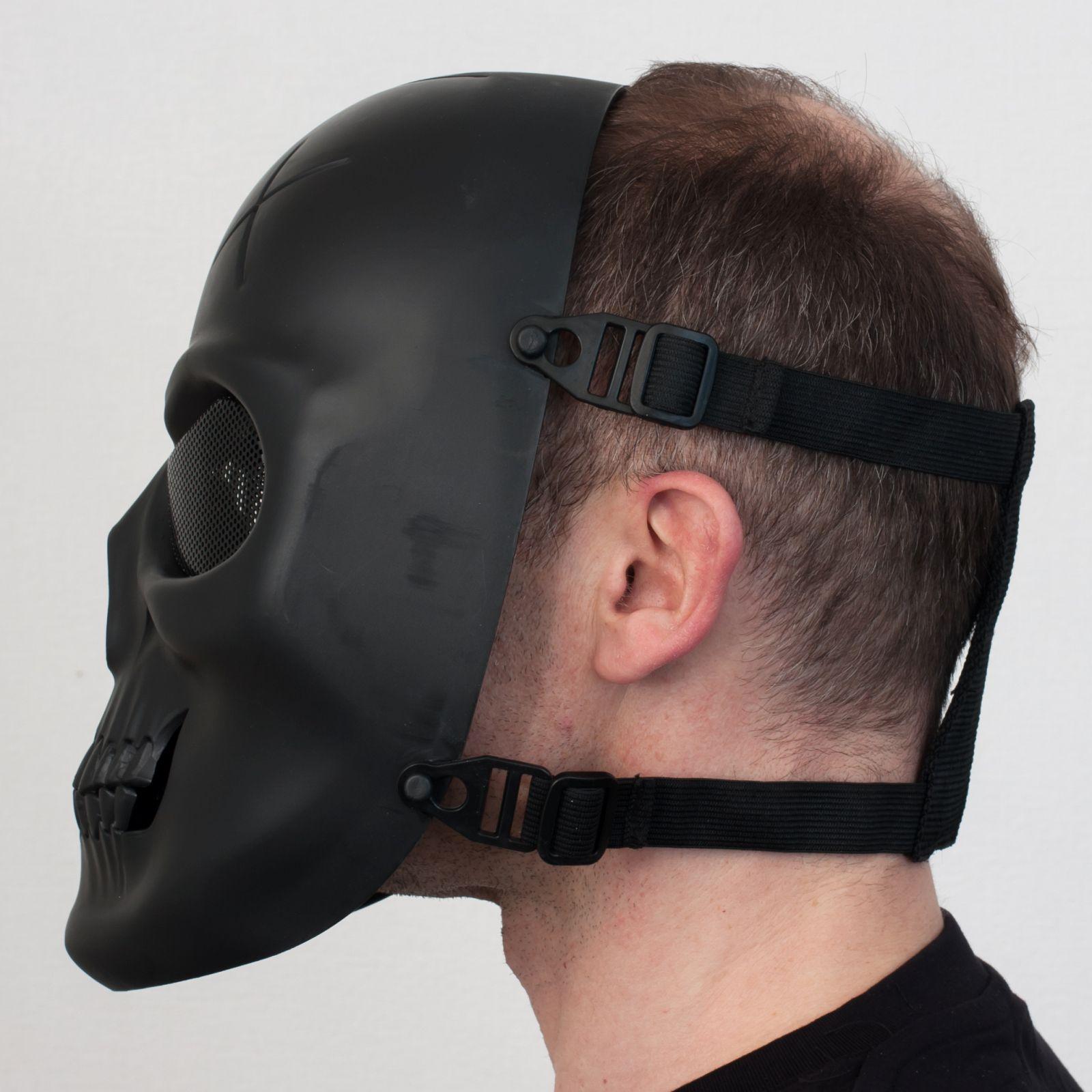 Заказать маску в форме черепа для страйкбола