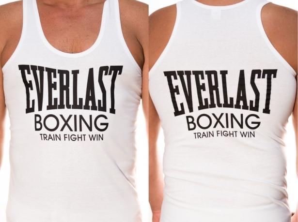 Майка Everlast boxing белая со скидкой