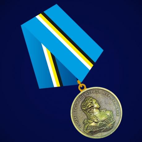 Медаль к 400-летию Дома Романовых. Елизавета I
