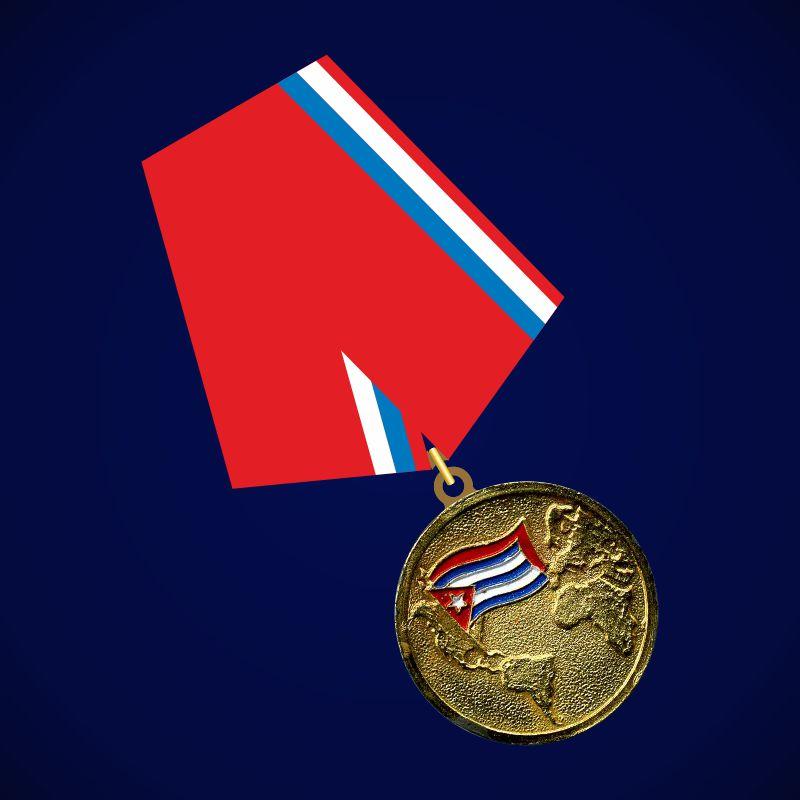 Медаль Воину-интернационалисту (Куба)