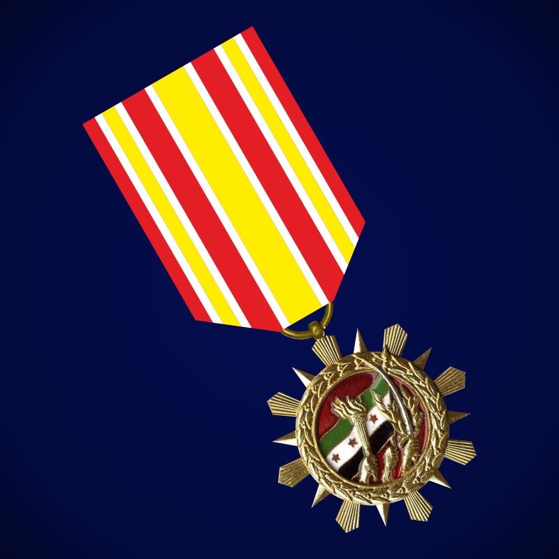 """Медаль """"За долголетнюю примерную службу"""" (Сирия)"""