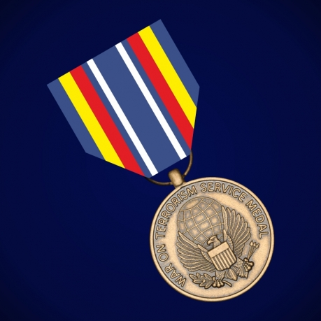 """Медаль """"За службу в войне с терроризмом"""" (США)"""