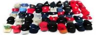 Микс брендовых кепок из фабричного резерва
