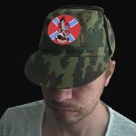 Милитари кепка с нашивкой Новороссия