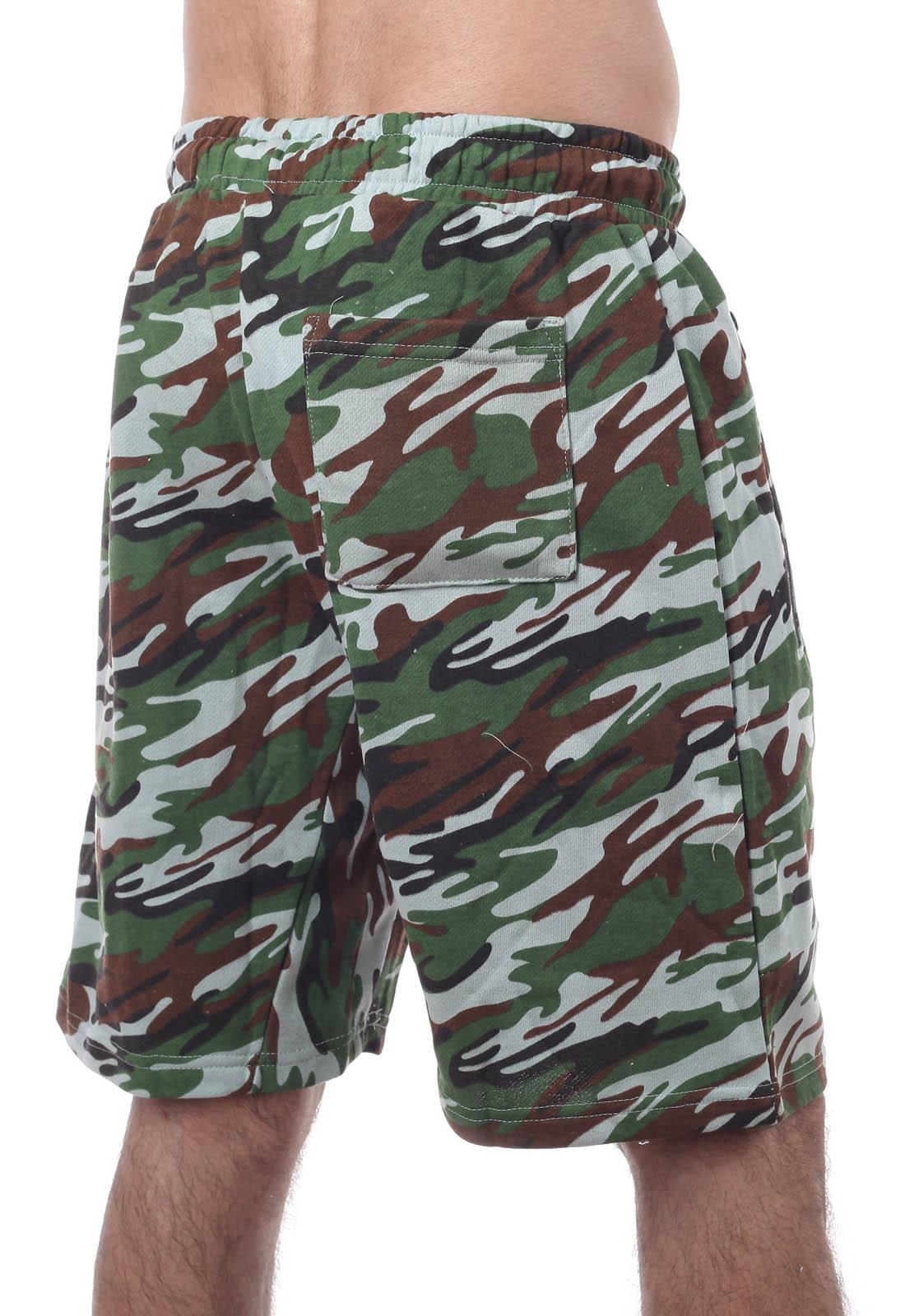 Мужские шорты с карманами от ТМ New York Athletics. Модный стиль милитари