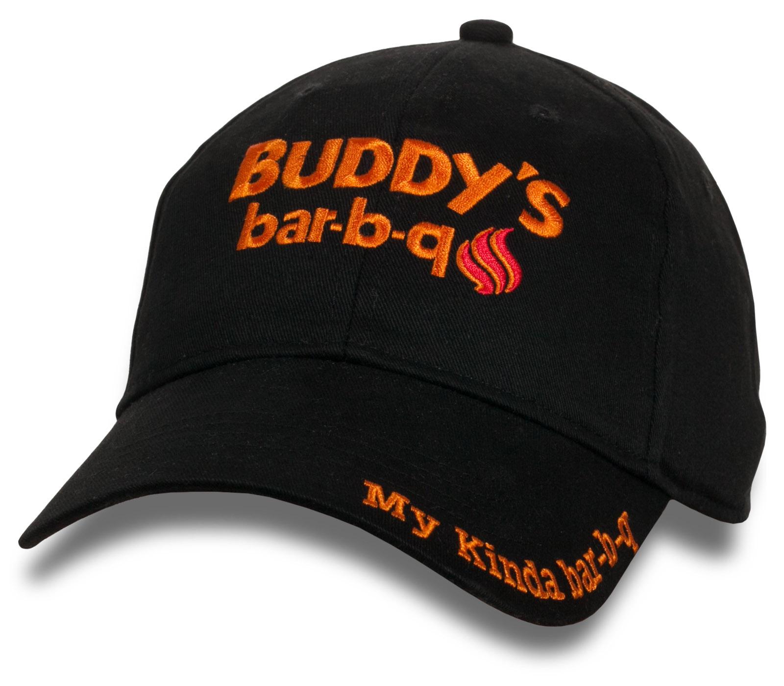 Заказать онлайн недорого модные бейсболки Buddy's Bar