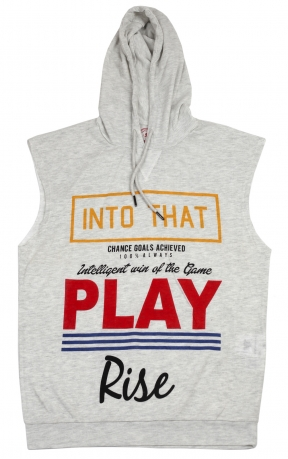Модная футболка Splash с капюшоном