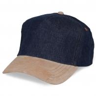 Модная кепка под печать эмблем