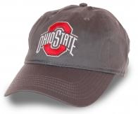 Модная бейсболка с качественной нашивкой Ohio State