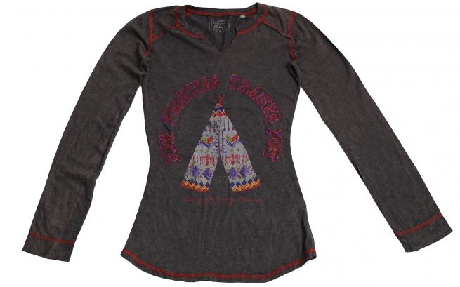 Модная кофточка Panhandle с индейским принтом