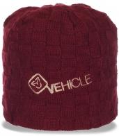 Модная женская шапка Vehicle. Стильный головной убор для капризной погоды